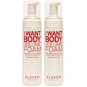 Eleven Australia I Want Body Volume Foam Duo 2x200ml