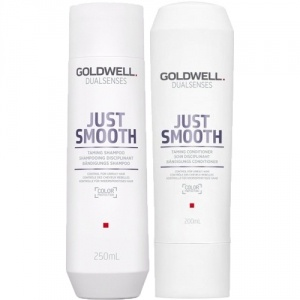 Goldwell Dualsenses Just Smooth Shampoo 250ml + Balsam 200ml Duo