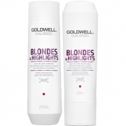 Goldwell Dualsenses Blondes & Highlights Anti-Yellow Shampoo & Balsam