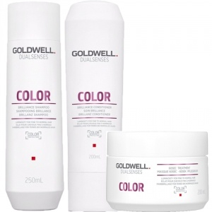 Goldwell Dualsenses Color Brilliance Shampoo & Balsam & Masque