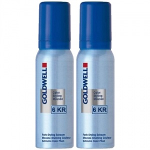 Goldwell Color Styling Mousse 6KR Granatäpple 2x75ml