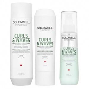 shampoo och balsam för lockigt hår