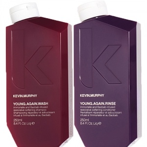 Kevin Murphy Young Again Wash 250ml + Rinse 250ml Duo