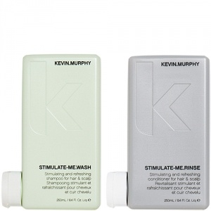 Kevin Murphy Stimulate-me Wash 250ml + Rinse 250ml Duo