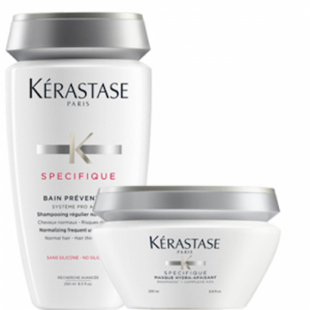 Kérastase Specifique Bain Prevention 250ml & Masque Hydra Apaisant 200ml