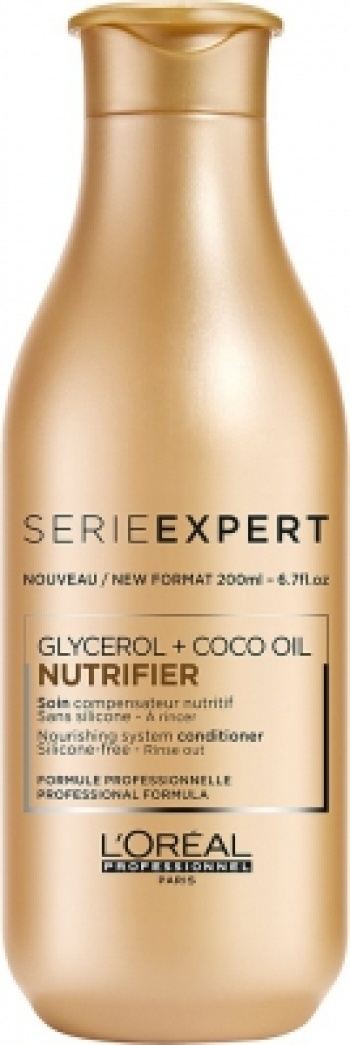 L'Oréal Nutrifier Glycerol + Coco Oil Silicone-Free Conditioner 150ml