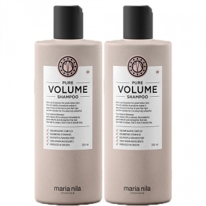 Maria Nila Pure Volume Shampoo 2x350ml Duo