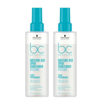 Schwarzkopf BC Bonacure Hyaluronic Moisture Kick Spray Conditioner Duo 2x200ml