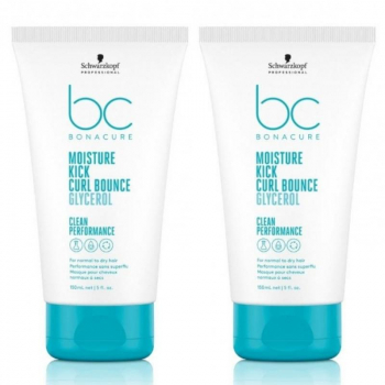 Schwarzkopf BC Bonacure Hyaluronic Moisture Kick Curl Power 5 Duo 2x125ml