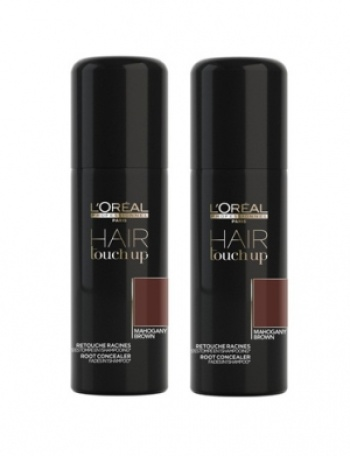 L'Oréal Hair Touch Up Mahogany Duo 2x75ml