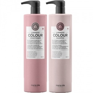 Maria Nila Care Luminous Colour Shampoo & Conditioner Duo 2x1000ml