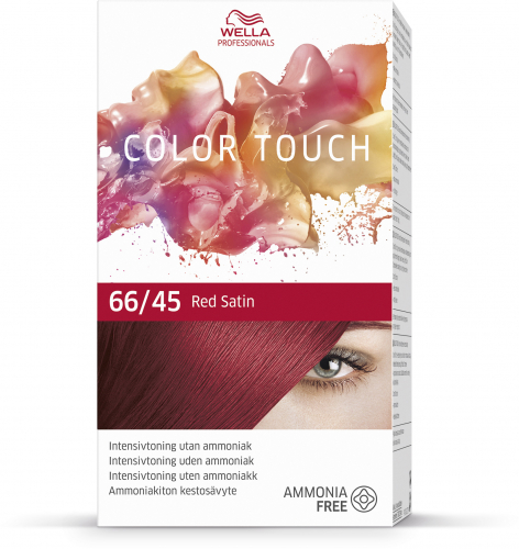 Wella Color Touch 66/45 Red Satin i gruppen Hårvård / Färg & toning hos ginos.se (wella-color-1001-015)